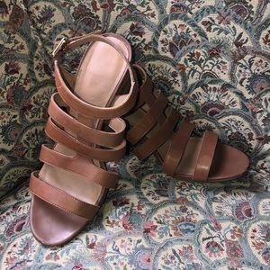 Franco Sarto Maisy Strappy Block Heel Sandals
